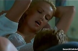 Charlize Theron Nude Tits, Lingerie and Makingout in Days In The Valley