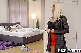 Babes Step Mom Lessons We Can Share starring Blanche Bradburry and Vinna Reed and Charlie Dean