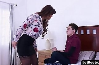 Fat ass and big tits gets hard anal fucked and face sitting